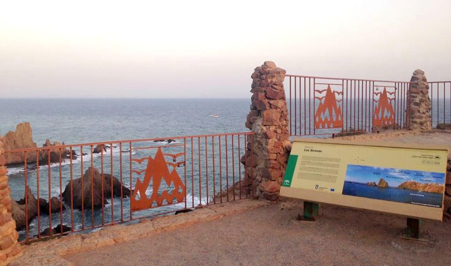 Mirador de Las Sirenas en el Parque Natural de Cabo de Gata.
