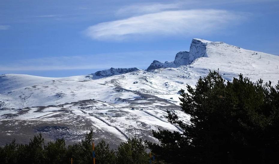 Pico Veleta, en Sierra Nevada.