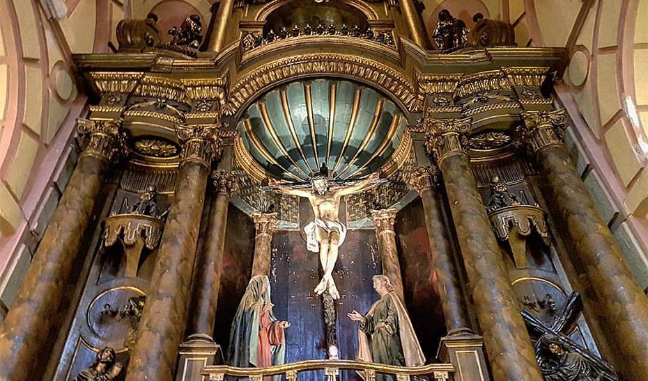 Cristo del Auxilio de Lima (Perú), considerado el antecedente directo del crucificado de la Clemencia.