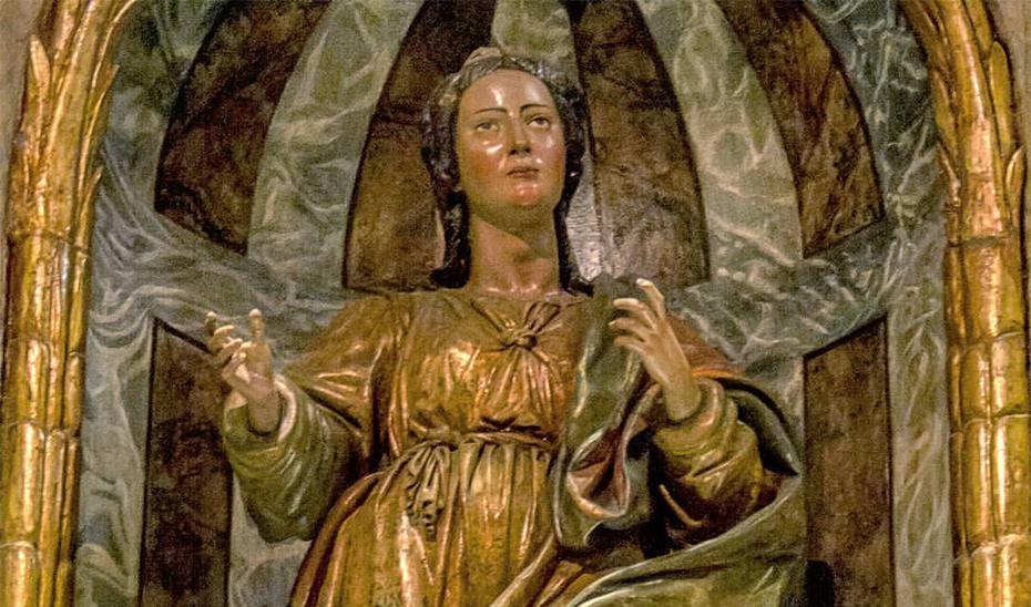 Santa Apolonia en Lima (Perú), realizada entre 1624 y 1625.
