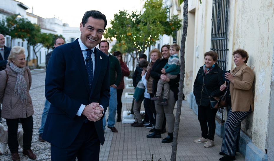 Mensaje de Navidad del presidente del Gobierno de Andalucía, Juanma Moreno