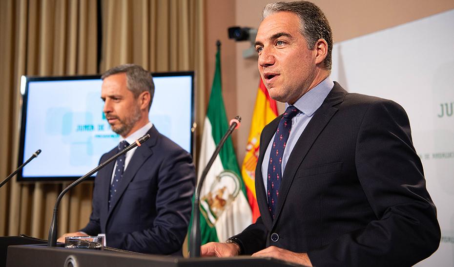 Bendodo explica la nueva estructura del Gobierno andaluz