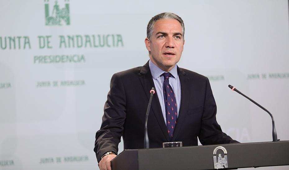 Bendodo informa sobre el encuentro entre el presidente y el delegado del Gobierno en Andalucía