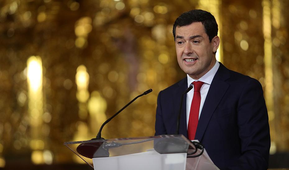 Intervención del presidente de la Junta en la entrega de las Medallas al Mérito de las Bellas Artes