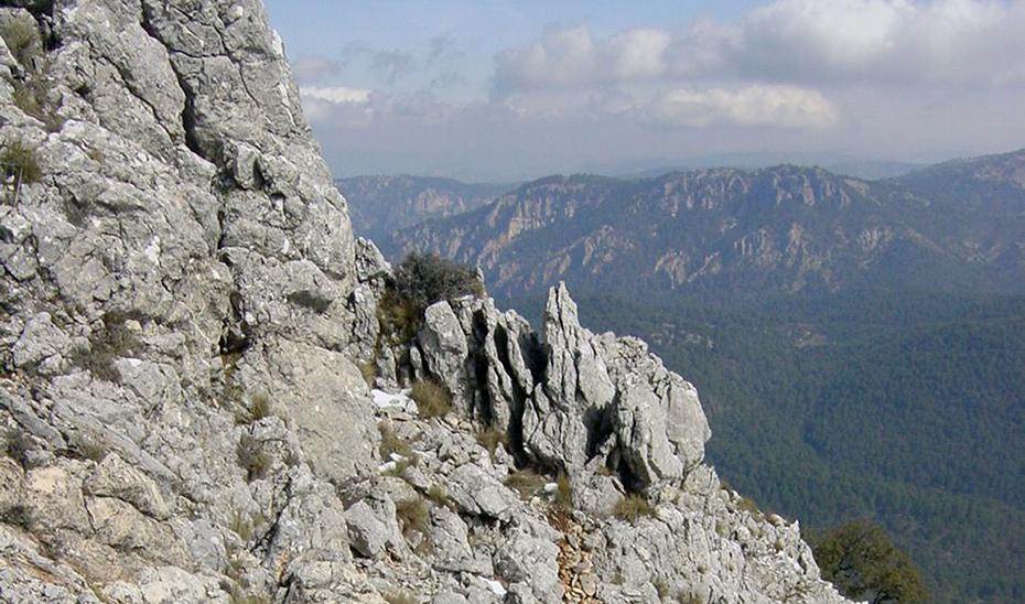 Vista general de la Sierra de Cazorla, Segura y las Villas.