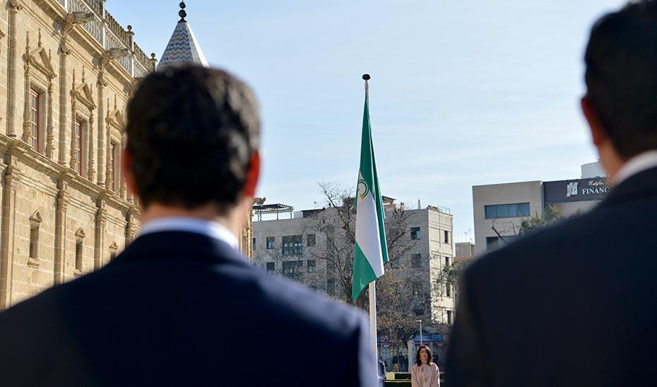 Conmemoración del 28F en el Parlamento