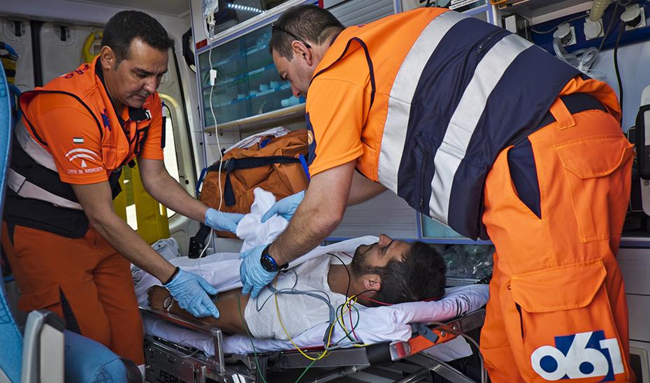 El servicio de emergencias, una de las \u0027joyas de la corona\u0027, según Jesús Aguirre, consejero de Salud y Familias.