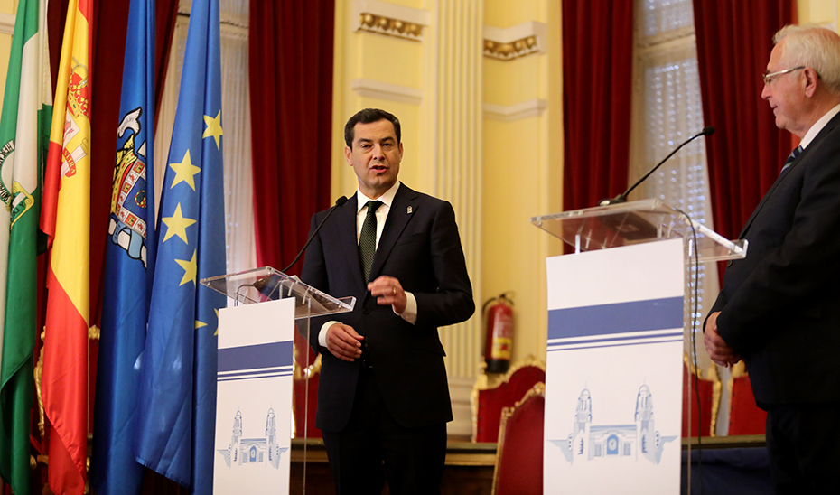 Intervención del presidente de la Junta en su visita a la Ciudad Autónoma de Melilla