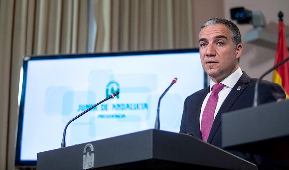 Elías Bendodo anuncia que la Junta mantendrá las ayudas a los alumnos Erasmus