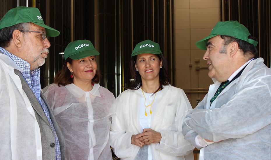 Andalucía destinará cuatro millones a respaldar la fusión e integración de entidades agroalimentarias