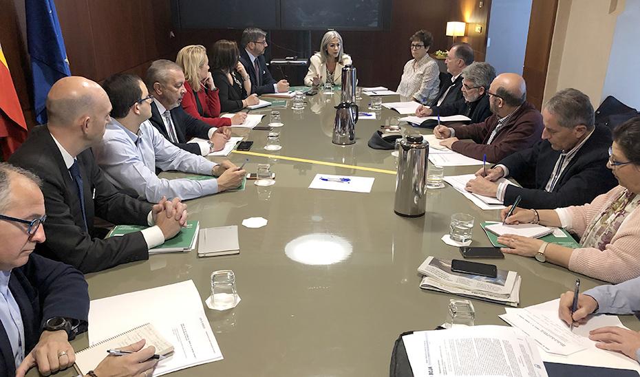 La consejera de Cultura y Patrimonio Histórico, Patricia del Pozo, preside la reunión del Consejo Andaluz de Memoria Histórica.