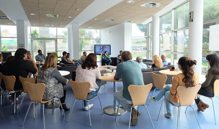 La Cafetería Lab, consolidada en 2018 como espacio de trabajo.