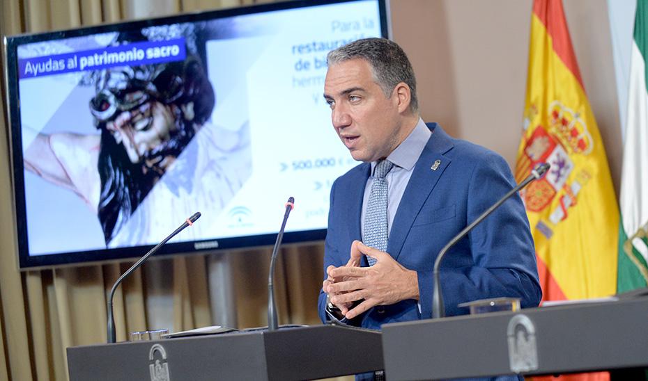 Bendodo avanza que patrimonio sacro andaluz contará con una línea de ayudas específica
