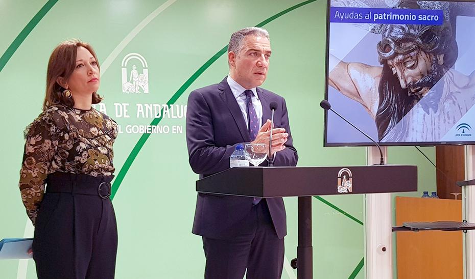 El consejero de Presidencia y portavoz del Gobierno, Elías Bendodo, en Málaga.