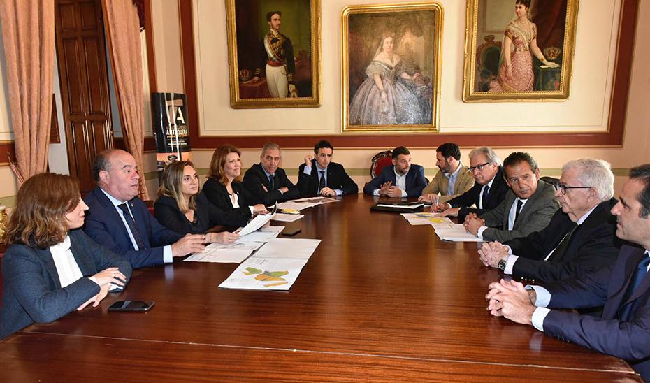 Un momento de la reunión, celebrada en Antequera (Málaga.