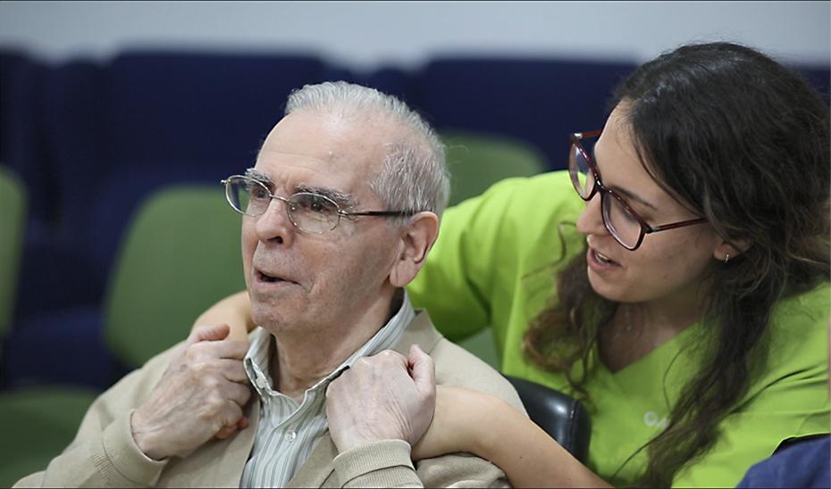 Presentación del documental del Proyecto Vibraciones, de la Asociación San Rafael de Alzheimer y el Teatro Avanti