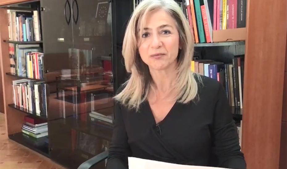 Patricia del Pozo anima a la lectura con motivo del Día Internacional del Libro