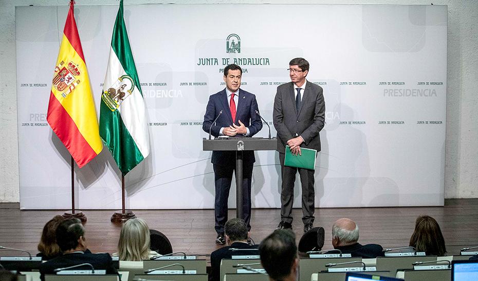 Juanma Moreno informa del Plan de Reactivación de Calidad Ambiental