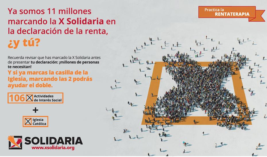 Más de 891.000 andaluces se benefician directamente de programas financiados con la \u0027X solidaria\u0027 de la Renta.