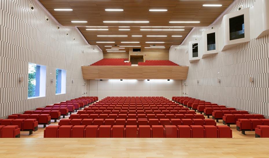 Auditorio principal del Palacio de Congresos de Córdoba.