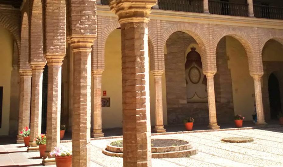 Patio del Palacio de Congresos y Exposiciones de Córdoba-Torrijos.