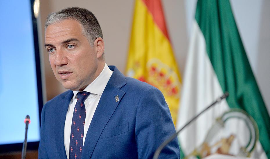 El portavoz del Gobierno informa sobre las exportaciones agroalimentarias andaluzas