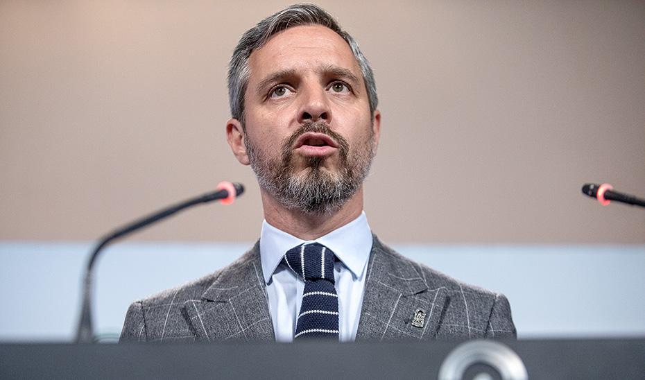 El consejero Juan Bravo avanza las líneas generales de los Presupuestos de 2019