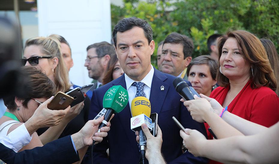 Moreno apuesta por situar el aceite de oliva andaluz en los mercados emergentes