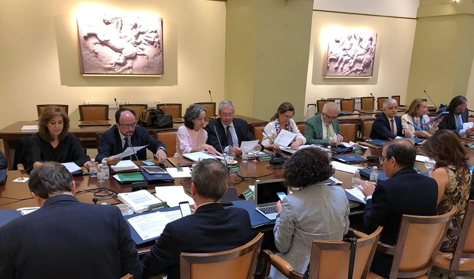 Sesión plenaria del Consejo Andaluz de Universidades.