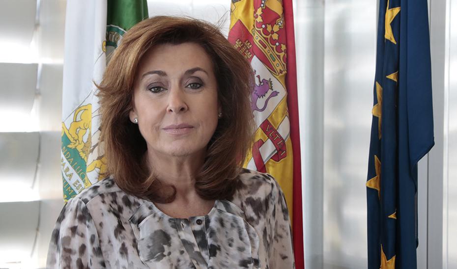 La nueva secretaria general de Universidades, Investigación y Tecnología de la Junta, Rosa María Ríos.