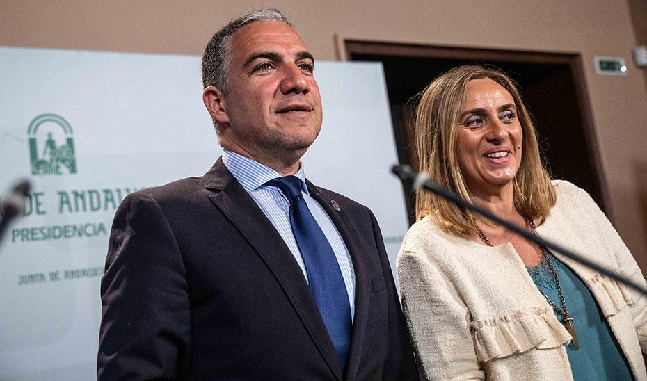 Elías Bendodo y Marifrán Carazo comparecen tras el Consejo de Gobierno (vídeo íntegro)