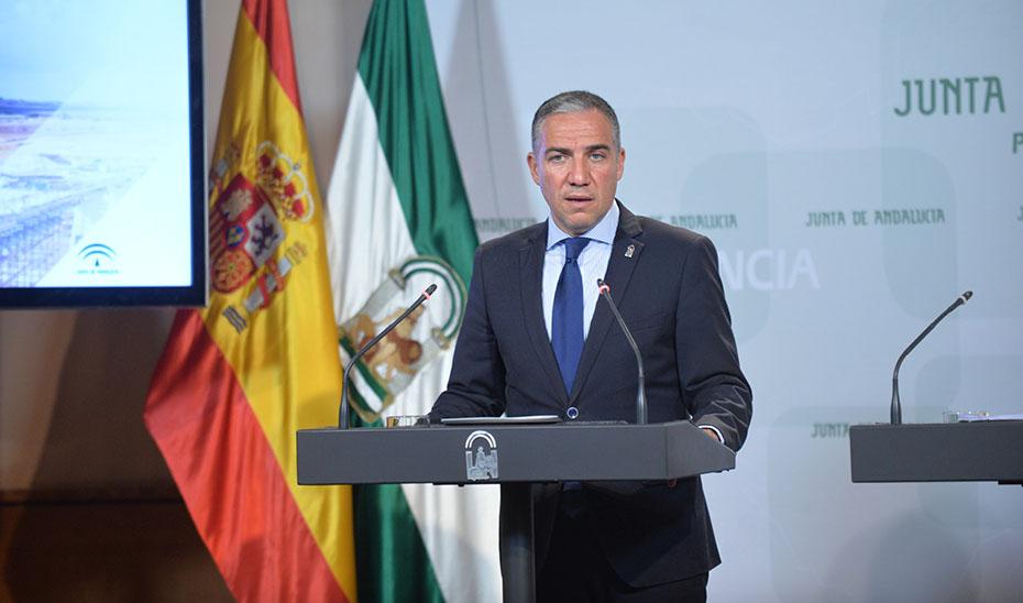 El consejero de Presidencia informa del Plan de retorno para andaluces en el exterior