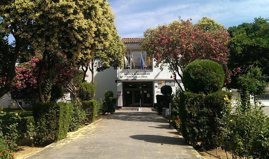 El IES Nuestra Señora de la Cabeza, en Andújar, donde se ubicará la nueva escuela oficial de idiomas del municipio.