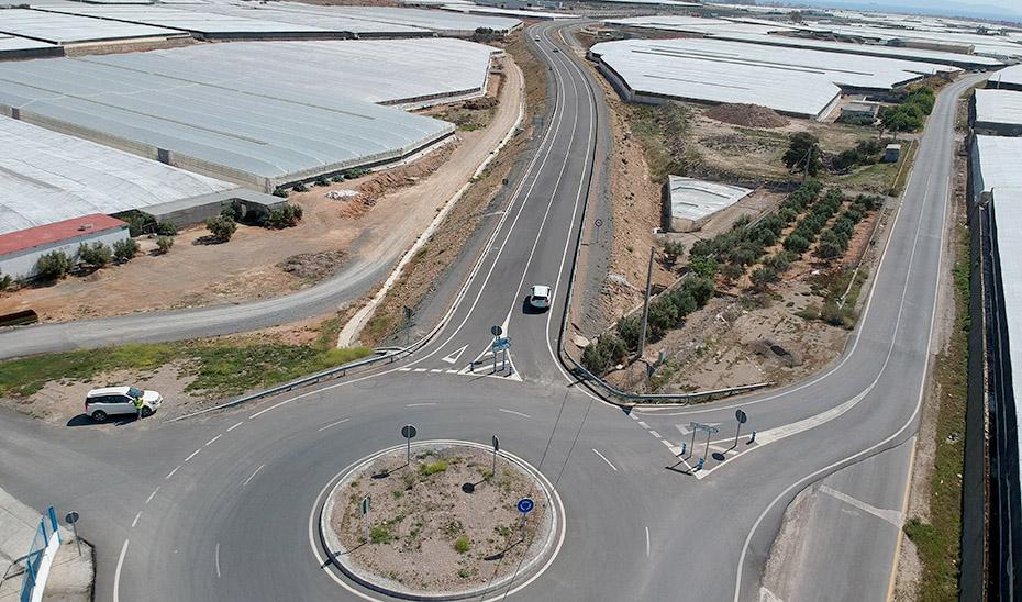La variante de Roquetas abierta al tráfico este viernes.