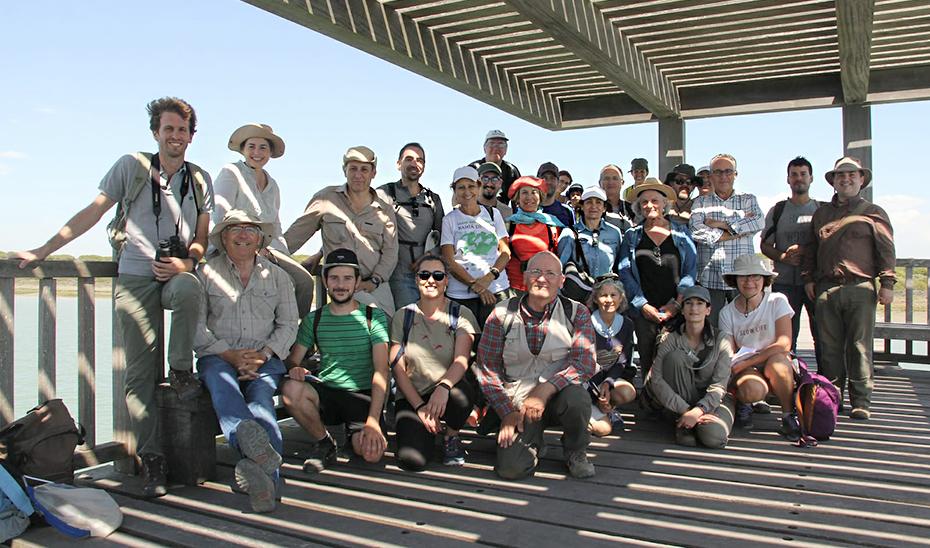 Los participantes en la quinta edición del Bioblitz, celebrada en el Parque de los Toruños.