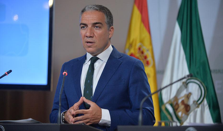 Bendodo hace balance de la situación económica de Andalucía