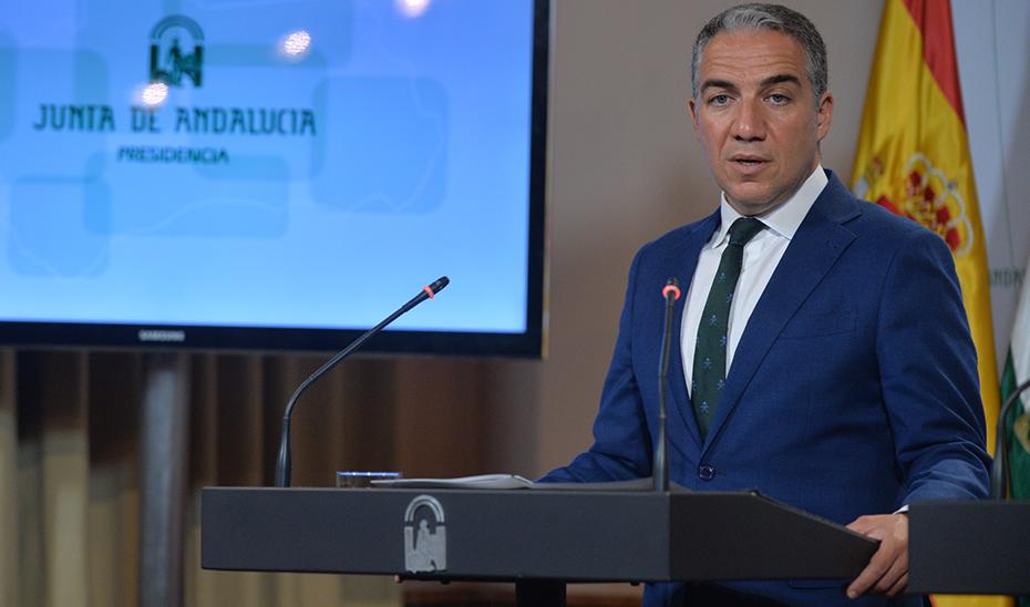 Elías Bendodo anuncia el decreto de enseñanzas universitarias en 2019-2020