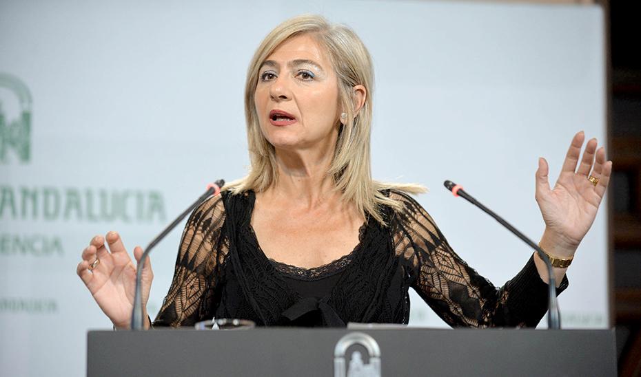 Patricia del Pozo informa de que la Junta destina más de 10 millones a las orquestas andaluzas