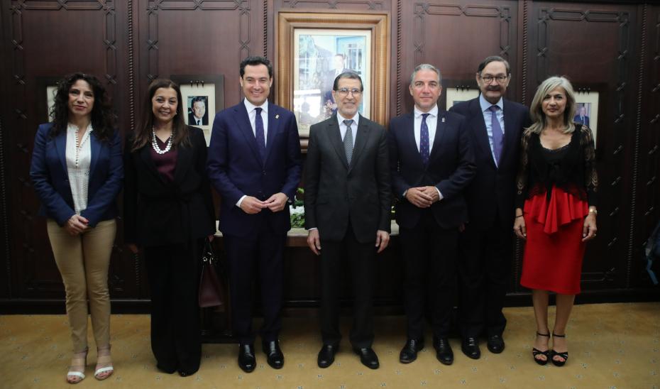 Moreno transmite al Gobierno marroquí su voluntad de ampliar la cooperación comercial, educativa y cultural
