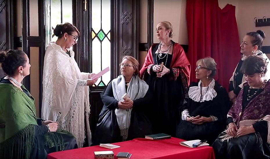 Secuencia del documental \u0027Grandes mujeres de mi tierra\u0027.