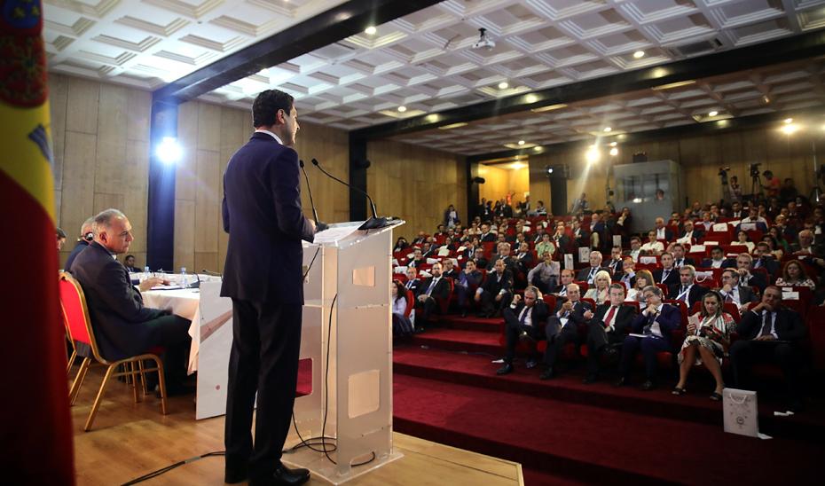 Intervención del presidente de la Junta en la inauguración del encuentro empresarial Andalucía-Marruecos