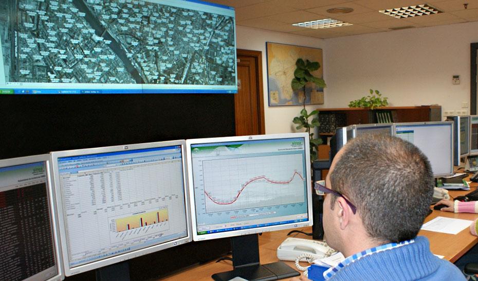 Instalaciones del centro de evaluación y seguimiento energético.