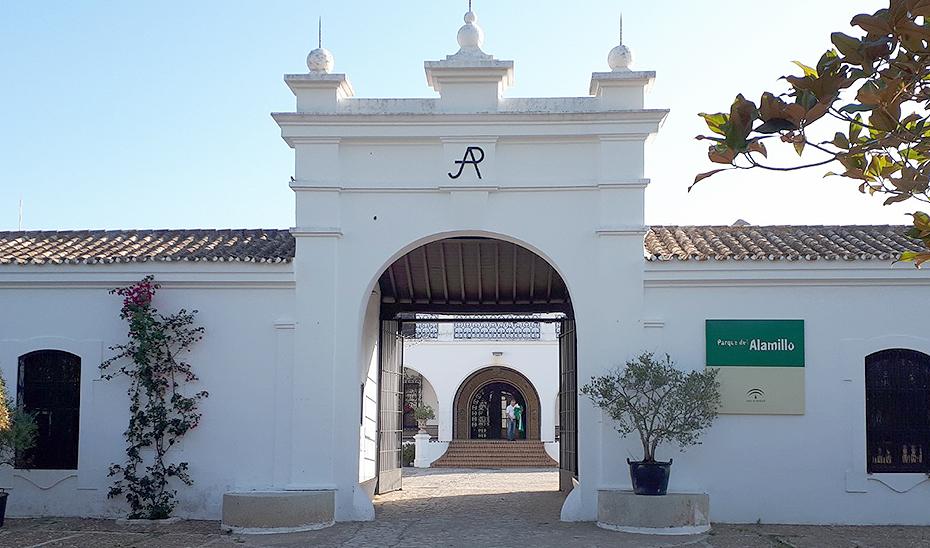 El Cortijo del Alamillo, en el parque al que da nombre, escenario del ciclo \u0027Los Veranillos del Alamillo\u0027.