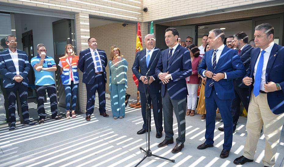 Intervención del presidente de la Junta en su visita al Puerto de Algeciras con motivo de la Operación Paso del Estrecho
