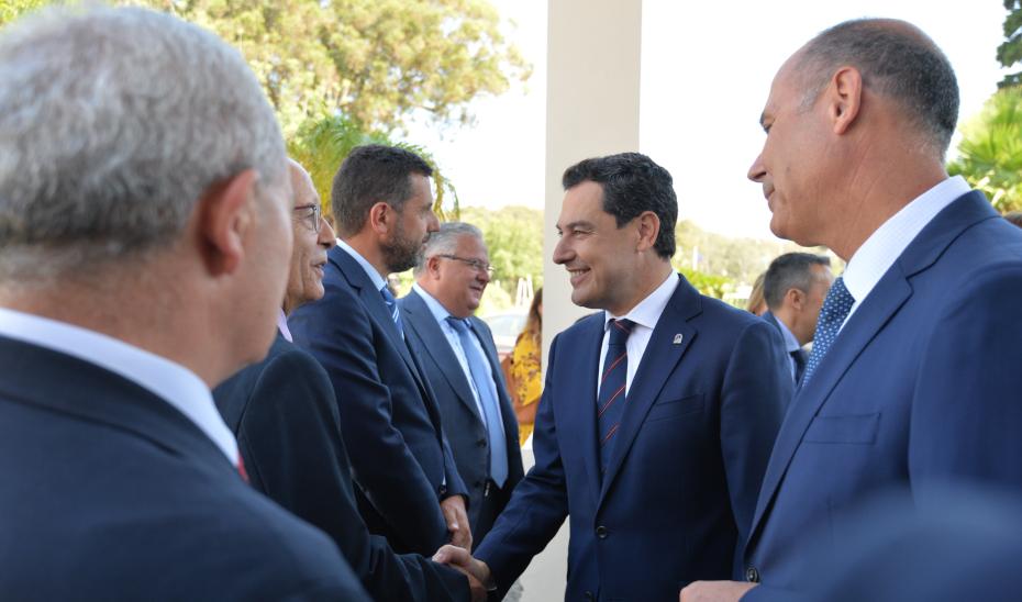 Intervención del presidente de la Junta en su visita a la Asociación de Grandes Industrias (AGI) del Campo de Gibraltar