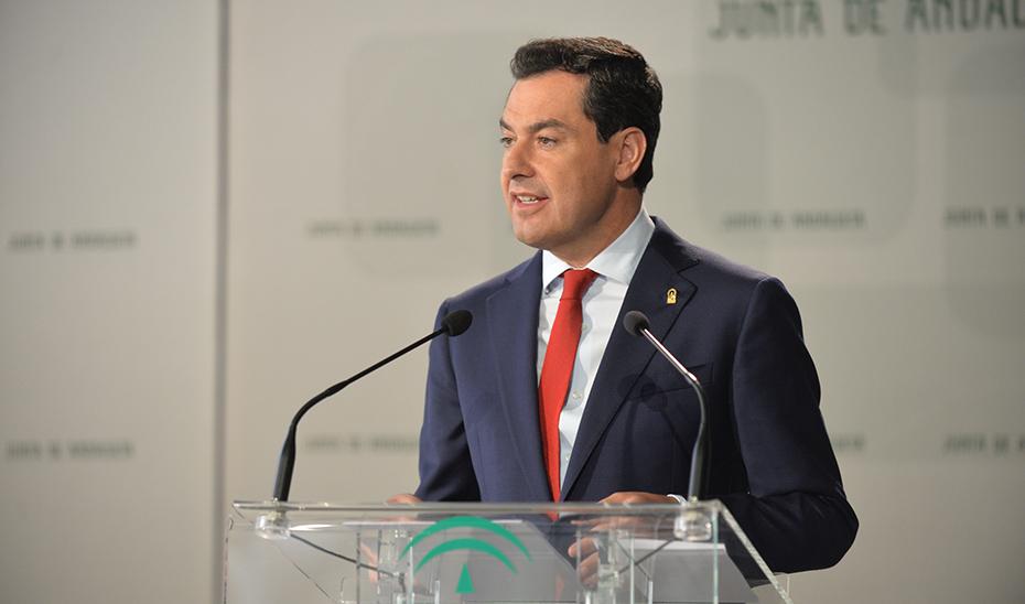 Intervención del presidente de la Junta en la toma de posesión del rector de la Universidad de Cádiz