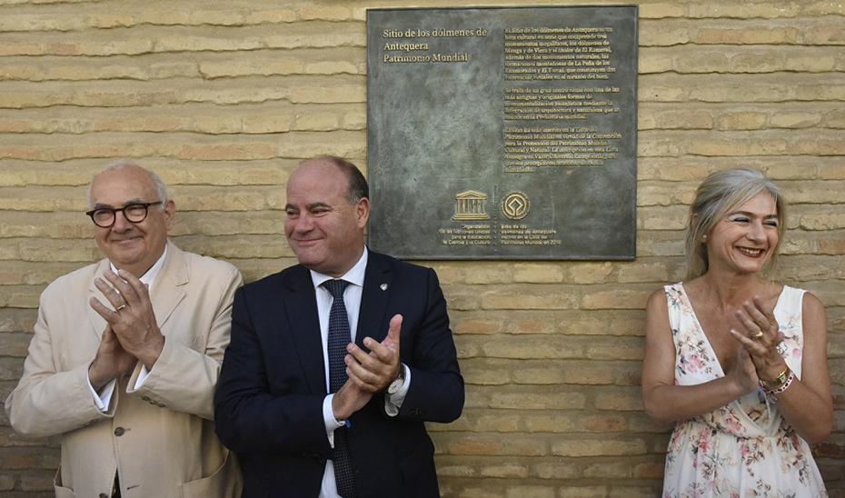Cultura ultima el Plan Especial de Protección de los Dólmenes de Antequera