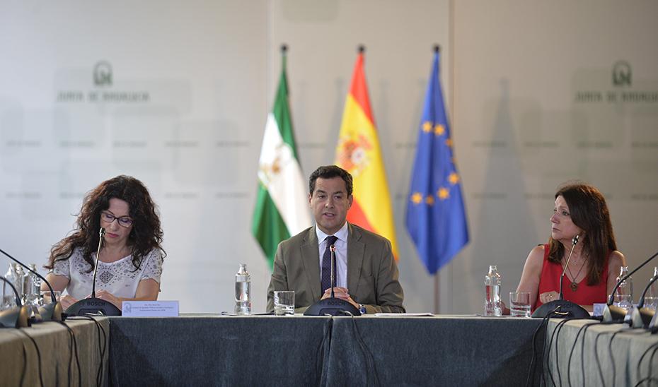 Intervención de Juanma Moreno en el pleno del Consejo Andaluz de Participación de las Mujeres