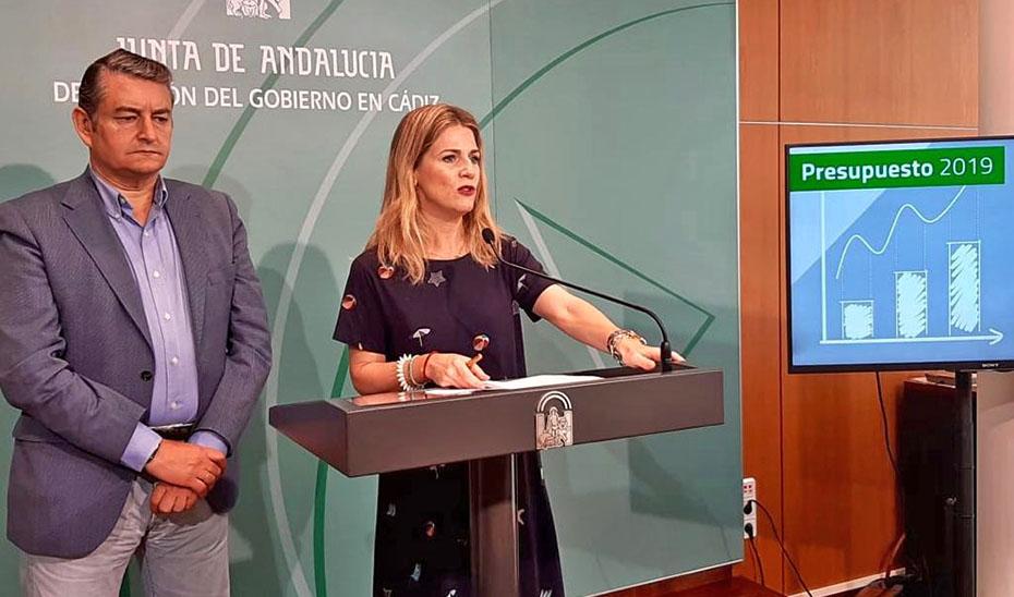 La delegada del Gobierno en Cádiz subraya la apuesta de los presupuestos por la provincia