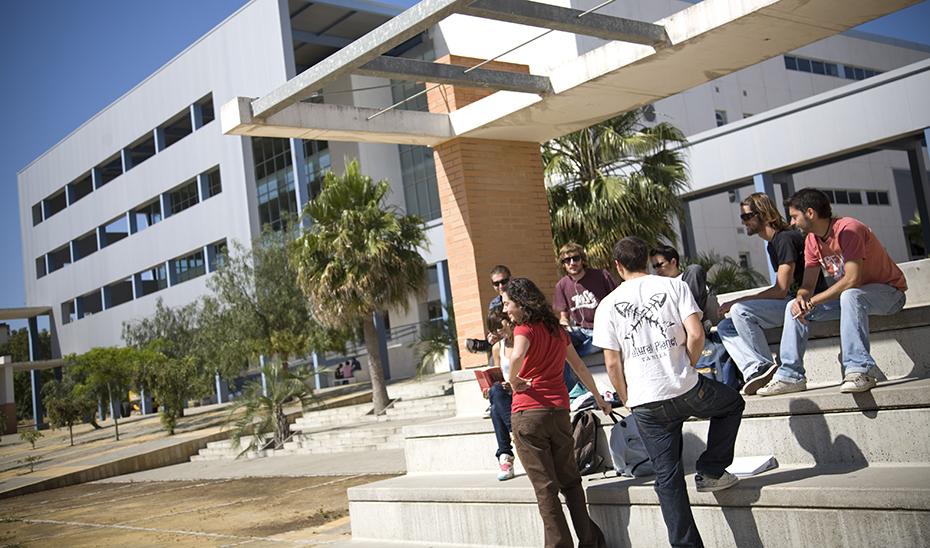 Un grupo de alumnos de la Universidad de Cádiz.